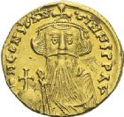 Photo numismatique  ARCHIVES VENTE 2012 EMPIRE BYZANTIN CONSTANS II (641-668)  404- Solidus, frappé à Constantinople en 651/654.