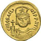 Photo numismatique  ARCHIVES VENTE 2012 EMPIRE BYZANTIN HERACLIUS (610-641)   399- Solidus, frappé à Constantinople en 610/613.
