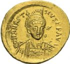 Photo numismatique  ARCHIVES VENTE 2012 EMPIRE BYZANTIN ANASTASE Ier (491-518)  388- Solidus, frappé à Constantinople.