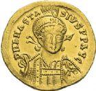 Photo numismatique  ARCHIVES VENTE 2012 EMPIRE BYZANTIN ANASTASE Ier (491-518)  387- Solidus, frappé à Constantinople.