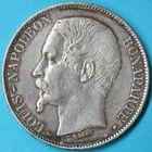 Photo numismatique  MONNAIES MODERNES FRANÇAISES LOUIS-NAPOLEON BONAPARTE Prince-Président (2 décembre 1851-2 décembre 1852)  5 francs.