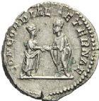 Photo numismatique  ARCHIVES VENTE 2012 EMPIRE ROMAIN PLAUTILLE (épouse de Caracalla +212)  317- Denier, frappé à Rome.