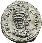 Photo numismatique  ARCHIVES VENTE 2012 EMPIRE ROMAIN JULIA DOMNA (épouse de Septime Sévère)  312- Denier, frappé à Rome en 211/217.