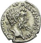 Photo numismatique  ARCHIVES VENTE 2012 EMPIRE ROMAIN SEPTIME SÉVÈRE (193-211)  309- Lot de trois deniers, frappés à *Emèse et Rome en 194/195, 197/198 et 202/210.