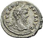 Photo numismatique  ARCHIVES VENTE 2012 EMPIRE ROMAIN SEPTIME SÉVÈRE (193-211)  308- Lot de deux *deniers, frappés à Laodicée et Rome en 202/210 et en 200/201.