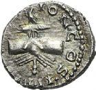 Photo numismatique  ARCHIVES VENTE 2012 EMPIRE ROMAIN CLODIUS ALBINUS (César 193-195 - Auguste 195-197)  305- Denier, frappé à Lyon en 195 ou 196/197.