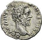 Photo numismatique  ARCHIVES VENTE 2012 EMPIRE ROMAIN CLODIUS ALBINUS (César 193-195 - Auguste 195-197)  304- Denier, frappé à Rome en 193.