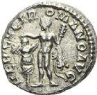 Photo numismatique  ARCHIVES VENTE 2012 EMPIRE ROMAIN COMMODE (César175-177 - Auguste 177-180)  300- Denier, frappé à Rome en 191/192.