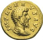 Photo numismatique  ARCHIVES VENTE 2012 EMPIRE ROMAIN LUCIUS VERUS (161-169)  298- Aureus, frappé à Rome en 161/162.