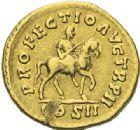 Photo numismatique  ARCHIVES VENTE 2012 EMPIRE ROMAIN LUCIUS VERUS (161-169)  298- Aureus, frappé à Rome en 161/162.