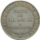 Photo numismatique  MONNAIES MODERNES FRANÇAISES NAPOLEON III, empereur (2 décembre 1852-1er septembre 1870)  Module de 5 centimes.