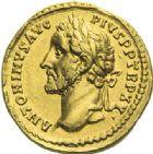 Photo numismatique  ARCHIVES VENTE 2012 EMPIRE ROMAIN ANTONIN LE PIEUX (César 138 - Auguste 138-161)  292- Aureus, frappé à Rome en 151/152.