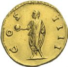 Photo numismatique  ARCHIVES VENTE 2012 EMPIRE ROMAIN ANTONIN LE PIEUX (César 138 - Auguste 138-161)  292- Aureus, frappé à Rome en 151/152.