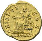 Photo numismatique  ARCHIVES VENTE 2012 EMPIRE ROMAIN ANTONIN LE PIEUX (César 138 - Auguste 138-161)  291- Aureus, frappé à Rome entre le 25 février et juillet 138.