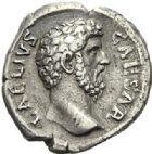 Photo numismatique  ARCHIVES VENTE 2012 EMPIRE ROMAIN AELIUS (césar 136-138)  290- Denier, frappé à Rome.