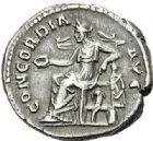Photo numismatique  ARCHIVES VENTE 2012 EMPIRE ROMAIN SABINE (épouse de Hadrien +137)  289- Denier, frappé à Rome.