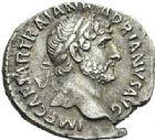 Photo numismatique  ARCHIVES VENTE 2012 EMPIRE ROMAIN HADRIEN (117-138)  288- Lot de deux *deniers, frappés à Rome en 119/122.