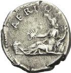 Photo numismatique  ARCHIVES VENTE 2012 EMPIRE ROMAIN HADRIEN (117-138)  287- Denier, frappé à Rome en 134/138.