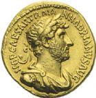 Photo numismatique  ARCHIVES VENTE 2012 EMPIRE ROMAIN HADRIEN (117-138)  286- Aureus, frappé à Rome entre 119 et 122.