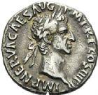 Photo numismatique  ARCHIVES VENTE 2012 EMPIRE ROMAIN NERVA (96-98)  282- Lot de deux deniers, frappés à Rome en 97.