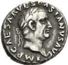 Photo numismatique  ARCHIVES VENTE 2012 EMPIRE ROMAIN VESPASIEN (69-79)  277- Denier, frappé à Rome en 69/70.