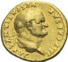 Photo numismatique  ARCHIVES VENTE 2012 EMPIRE ROMAIN VESPASIEN (69-79)  276- Aureus, frappé à Rome en 77/78.