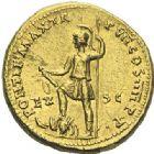 Photo numismatique  ARCHIVES VENTE 2012 EMPIRE ROMAIN NERON (54-68)  273- Aureus, frappé à Lyon en 61/62.