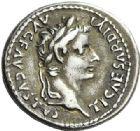 Photo numismatique  ARCHIVES VENTE 2012 EMPIRE ROMAIN TIBÈRE. (14-37)  272- Denier, frappé à Lyon à partir de 30.