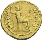 Photo numismatique  ARCHIVES VENTE 2012 EMPIRE ROMAIN TIBÈRE. (14-37)  271- Aureus, frappé à Lyon à partir de 30.