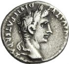 Photo numismatique  ARCHIVES VENTE 2012 EMPIRE ROMAIN OCTAVE-AUGUSTE. (Empereur en 29 - Auguste 27 av.-14 ap. JC)  270- Denier, frappé à Lyon entre 2 av. et 4 ap. JC.