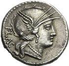 Photo numismatique  ARCHIVES VENTE 2012 REPUBLIQUE ROMAINE L. Rutilius Flaccus (vers 77)  259- Denier.