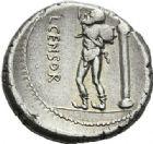 Photo numismatique  ARCHIVES VENTE 2012 REPUBLIQUE ROMAINE L. Censorinus (vers 82)  244- Denier.