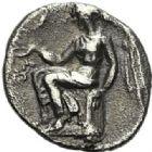 Photo numismatique  ARCHIVES VENTE 2012 GRÈCE ANTIQUE Italie - Bruttium Térina (420-400) 40- Sixième de statère, (420-400).