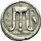 Photo numismatique  ARCHIVES VENTE 2012 GRECE ANTIQUE Italie - Bruttium Crotone (510-480) 36- Statère, (510-480).