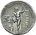 Photo numismatique  ARCHIVES VENTE 2012 GRECE ANTIQUE Italie - Bruttium Ligue des Bruttiens (215-205) 31- Drachme, (215-205).