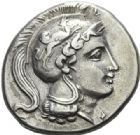 Photo numismatique  ARCHIVES VENTE 2012 GRECE ANTIQUE Italie - Lucanie Vélia (400-350) 28- Statère, (400-350).