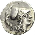 Photo numismatique  ARCHIVES VENTE 2012 GRECE ANTIQUE Italie - Lucanie Métaponte 2de Guerre Punique. Période d'HANNIBAL (212-207) 22- Drachme.