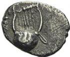 Photo numismatique  ARCHIVES VENTE 2012 GRÈCE ANTIQUE Italie - Apulie Rubi Rubastini 7- Hémiobole, (3e siècle).