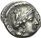 Photo numismatique  ARCHIVES VENTE 2012 GRECE ANTIQUE Italie - Campanie Nola 5- Didrachme, (360-325).