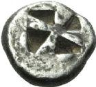 Photo numismatique  MONNAIES VOLEES GRÈCE ANTIQUE GRECE CENTRALE EGINE (VIe siècle) 122- Hémidrachme, (Vie siècle).