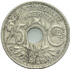 Photo numismatique  MONNAIES MODERNES FRANÇAISES 3ème REPUBLIQUE (4 septembre 1870-10 juillet 1940)  25 centimes.
