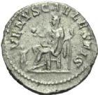 Photo numismatique  MONNAIES EMPIRE ROMAIN JULIA SOEMIAS (mère d'Elagabale +222)  Denier frappé à Rome.