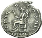 Photo numismatique  MONNAIES EMPIRE ROMAIN HADRIEN (117-138)  Denier frappé à Rome en 119/122.