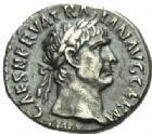 Photo numismatique  MONNAIES EMPIRE ROMAIN TRAJAN (98-117)  Denier frappé à Rome en 101/102.
