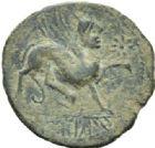 Photo numismatique  MONNAIES GRECE ANTIQUE ESPAGNE CASTULO (Jaen) As frappé vers 100-20.