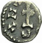 Photo numismatique  MONNAIES PEUPLES BARBARES MEROVINGIENS CITES MARSEILLE (Bouches-du-Rhône) Denier d'Antenor (VIIIe siècle).