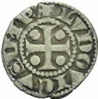 Photo numismatique  MONNAIES CAROLINGIENS LOUIS LE PIEUX, empereur (janvier 814-20 juin 840)  Denier immobilisé frappé à Saint-Maurice d'Agaune.