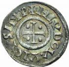 Photo numismatique  MONNAIES CAROLINGIENS LOUIS LE PIEUX, empereur (janvier 814-20 juin 840) Type au temple (à partir de 822) Denier