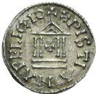 Photo numismatique  MONNAIES CAROLINGIENS LOUIS LE PIEUX, empereur (janvier 814-20 juin 840) Type au temple (à partir de 822) Denier.