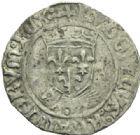Photo numismatique  MONNAIES ROYALES FRANCAISES LOUIS XII (8 avril 1498-31 décembre 1514)  Douzain au porc-épic frappé à Lyon.